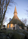 Scandinavian church Stock Image