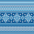 Scandinavian pattern seamless vector background with Stock Photography