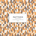 Scandinavian seamless pattern. Fabric print design Royalty Free Stock Photo