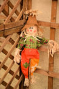 Scarecrow for the garden Royalty Free Stock Photo