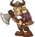 Scared viking