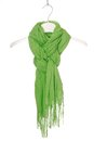 Scarf a trendy green unisex Royalty Free Stock Images