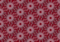 Scarlet colored repeat pattern from stars Stock Images