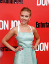 Scarlett johansson new york sep actress attends the don jon new york premiere at the sva theater on september in new york city Royalty Free Stock Image