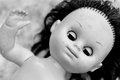 Scary doll Royalty Free Stock Photography