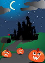 Scary halloween background Royalty Free Stock Photography