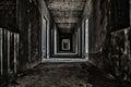 Scary Hallway Walkway