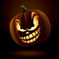 Scary Jack O Lantern Stock Photos