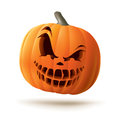 Scary Jack O Lantern Royalty Free Stock Images