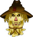 Scary_scarecrow.jpg Royalty Free Stock Photography
