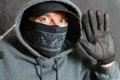 Scassinatore busted Immagini Stock Libere da Diritti