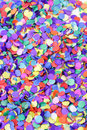 Scattered confetti colorful background Royalty Free Stock Image