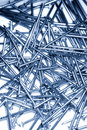 Scattered Nails Royalty Free Stock Image