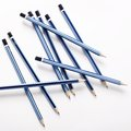 Scattered pencils Royalty Free Stock Photo