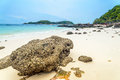 Scene beach at koh larn ta yai thailand Stock Photography