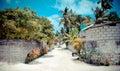 Scene dei Maldives Immagini Stock Libere da Diritti
