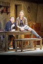 Scene from play The Cripple from Inishmaan Royalty Free Stock Photography