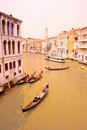 Scene from Venice, Italy Royalty Free Stock Photos