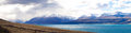 Scenery of the Aoraki mount Cook Royalty Free Stock Photo