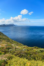 Scenery aroud cape of good hope cape town south africa Royalty Free Stock Photo