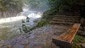 Scenery categories: Benxi closed mountain stream Royalty Free Stock Photo