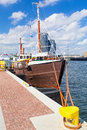 Scenery of gdynia city at baltic sea poland Stock Images