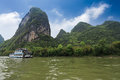 Scenery of lijiang river in guilin Royalty Free Stock Photo
