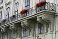 The scenery of Vienna City Royalty Free Stock Image