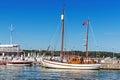 Scenes from the Sopot Marina Royalty Free Stock Photo