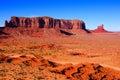 Scenic arizona desert iconic landscape at monument valley usa Stock Image