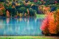 Scenic Autumn Landscape In Pen...