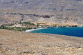 Scenic beach at Crete island, Greece Royalty Free Stock Photos