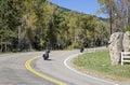 Scenic Bike Ride Royalty Free Stock Photo