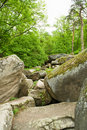 Scenic boulders Royalty Free Stock Images