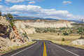 Scenic byway near boulder in utah usa Stock Images