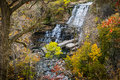 Scenic Cascading Waterfalls In...