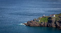 Scenic Fort Amherst along the Newfoundland Coast Royalty Free Stock Photo