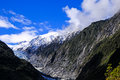 Scenic franz josef glacier south island new zealand Stock Photos