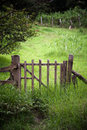 Scenic Gate in Costa Rica Stock Photography