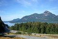 Scenic highway british columbia sea to sky near vancouver Royalty Free Stock Photography