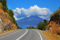 Scenic highway Carretera Austral Royalty Free Stock Photo
