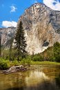 Yosemite Valley Mountains, US National Parks Royalty Free Stock Photo