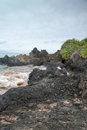 Scenic Maui Shoreline Royalty Free Stock Photos