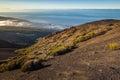 Scenic mountainside overlooking mt teide tenerife island canary islands Royalty Free Stock Photography