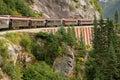 Scénický železnice aljaška