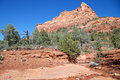 Scenic red rock country sedona arizona Stock Image