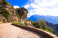 Scenic roads of Corsica Royalty Free Stock Photo