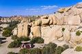 Scenic rocks in Joshua Tree National Park Royalty Free Stock Photo