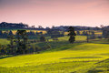 Scenic rural australia beautiful farm landscape in south gippsland victoria Stock Photo