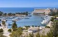 Scenic Summer Resort In Greece